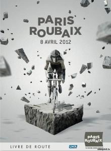 Paris-Roubaix 2012 Race Poster