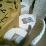 La pubblicazione ai tavoli degli invitati