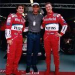 Con Ronaldo E Ralf Schumacher