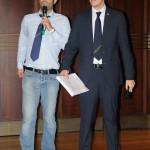 Assieme all'amico Sandro Bulleri