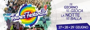 La locandina del Tower Festival