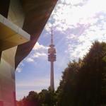 La torre dell'Olympiapark