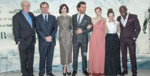 Il cast di Interstellar