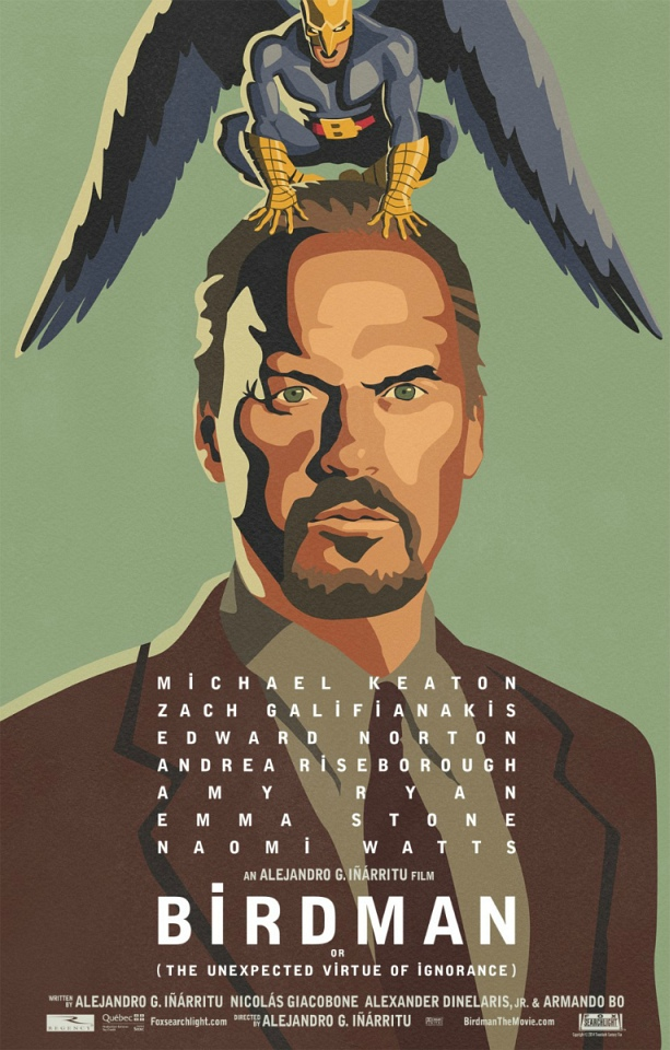 La locandina di Birdman