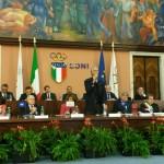 Malagò alla presentazione del progetto a Roma