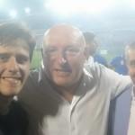 Con il direttore Lucchesi e il vicepresidente Freggia
