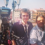 il commento sui lungarni con Ruggero Crupi del Gioco del Ponte 2016