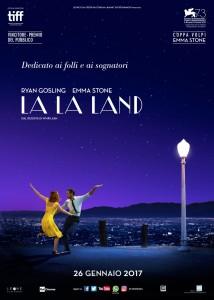 "La locandina di ""La La Land"""