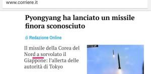 Un'altra perla targata Corriere