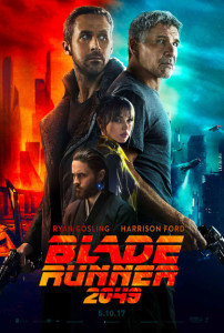 La locandina di Blade Runner 2049