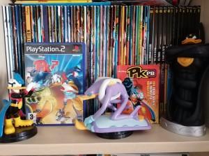 Tutti i numeri di Pk Giant con altre action figure, il videogioco e il Pk Pocket Book