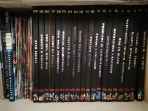 La serie completa di Pk Ultimate Collection. Accanto alcuni numeri speciali, volumi e il RomPK