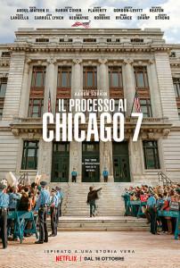 """La locandina di """"Il Processo ai Chicago 7"""""""